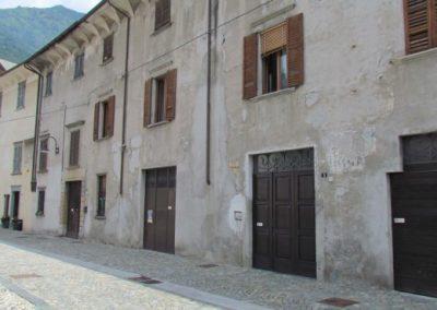 Facciata del palazzo Parravicini a Tirano