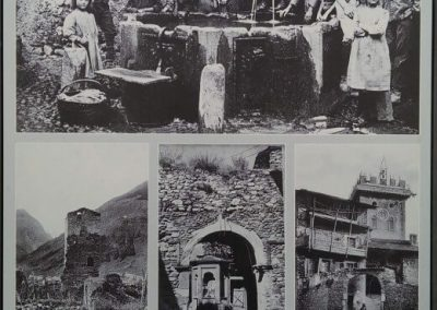 Articoli storici del palazzo Parravicini a Tirano