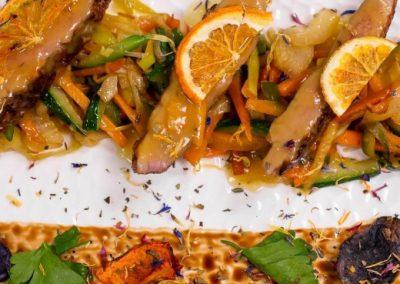 Secondo piatto di carne - ristorante Parravicini a Tirano