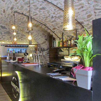 Sala Bar del ristorante Parravicini a Tirano