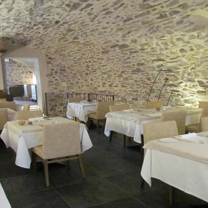Sala Inferno del ristorante Parravicini a Tirano